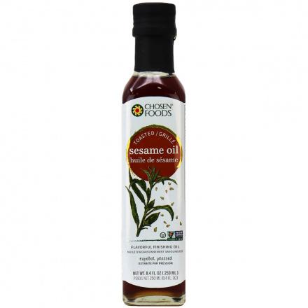 Chosen Foods Toasted Sesame Oil, 250ml