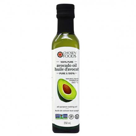 Chosen Foods 100% Pure Avocado Oil, 250ml