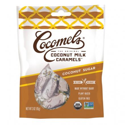 Cocomels Coconut Milk Caramels Coconut Sugar, 85g