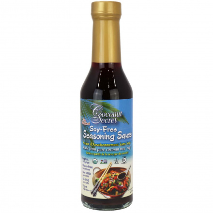 Coconut Secret Organic Soy-Free Coconut Aminos Seasoning Sauce, 237ml