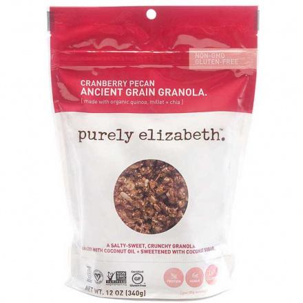 Purely Elizabeth Ancient Grain Granola Cereal Cranberry Pecan, 340g