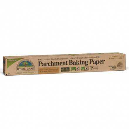 If You Care FSC Certifited Unbleached Parchment Baking Paper, 70 sq ft