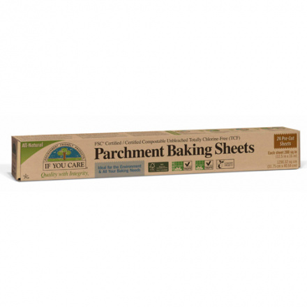 If You Care FSC Certifited Unbleached Parchment Baking Sheets, 24 Sheets