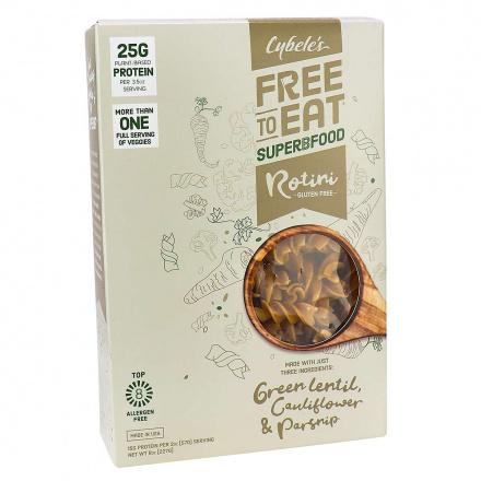 Cybele's Free to Eat Superbfood Grain-Free White Veggie Rotini, 227g