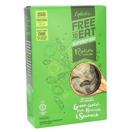 Cybele's Free to Eat Superbfood Grain-Free Rotini Green Veggies, 227g