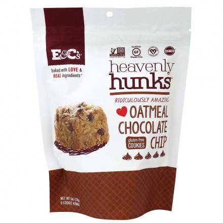 Heavenly Hunks Gluten-Free Cookies Oatmeal Chocolate Chip, 170g