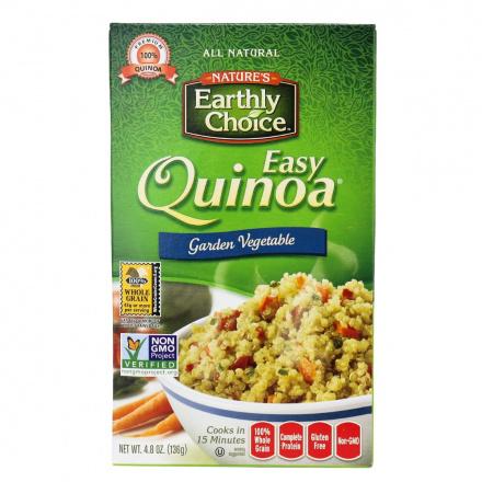 Nature's Earthly Choice Garden Vegetable Easy Quinoa, 136g
