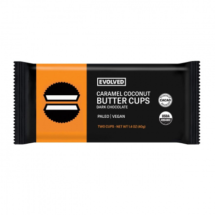 Eating Evolved Caramel & Sea Salt Chocolate Coconut Butter Cups, 2 Cups