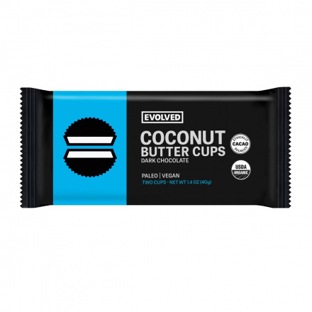 Eating Evolved Classic Chocolate Coconut Butter Cups, 2 Cups