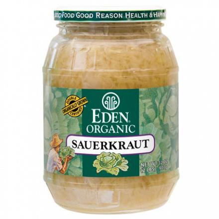Eden Foods Organic Sauerkraut, 796ml
