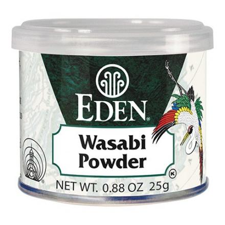 Eden Foods Wasabi Powder, 25g