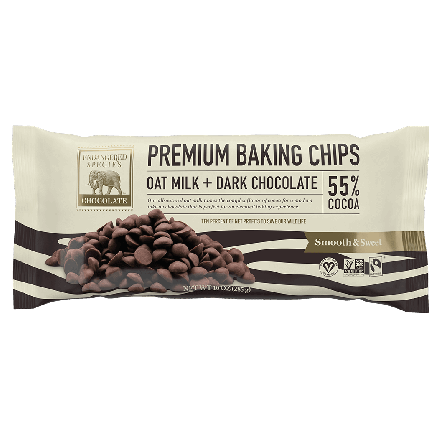 Endangered Species Premium 55% Cocoa Dairy-Free Baking Chips - Front