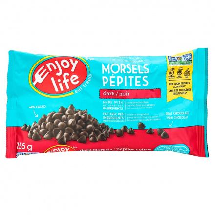 Enjoy Life Dark Chocolate Morsels, 255g
