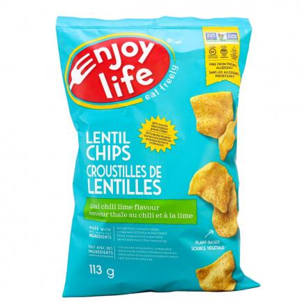 Enjoy Life Lentil Chips Thai Chili Lime, 113g