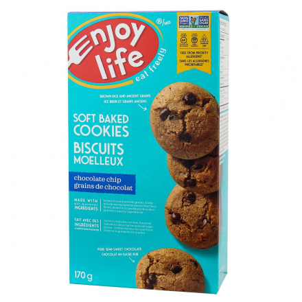 Enjoy Life Gluten-Free Soft Baked Cookies Chocolate Chip, 170g