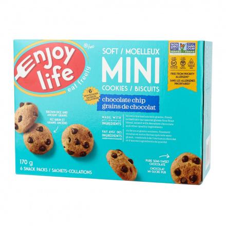 Enjoy Life Gluten-Free Soft Baked Mini Cookies Chocolate Chip, 170g