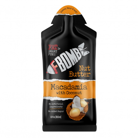 FBomb Macadamia With Coconut Nut Butter Blend, 29ml