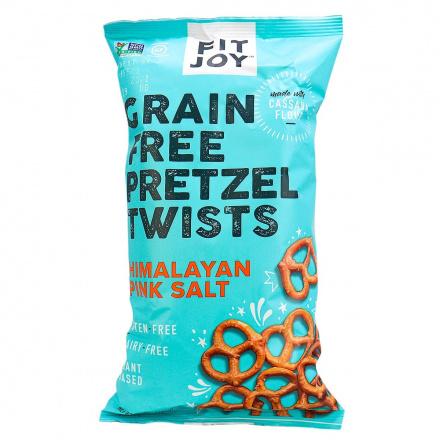 Fit Joy Grain-Free Pretzel Twists with Himalayan Pink Salt, 141g