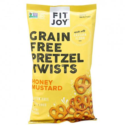 Fit Joy Grain-Free Pretzel Twists Honey Mustard, 127g