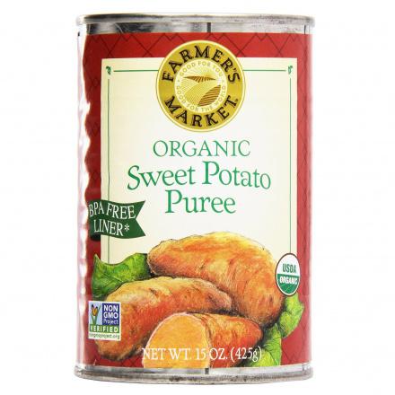 Farmer's Market Organic Sweet Potato Puree, 397g