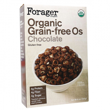 Forager Project Organic Grain-Free Os Chocolate, 198g