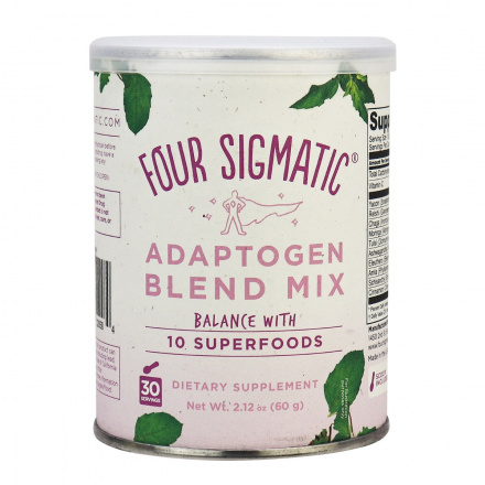 Four Sigmatic Adaptogen Blend Mix Balance with 10 Superfoods, 60g