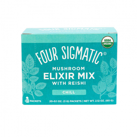 Four Sigmatic Mushroom Elixir Mix Chill with Reishi Chill - 20 Packets