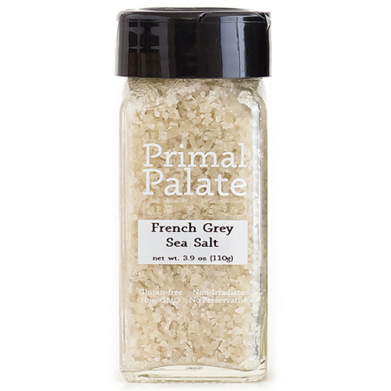 Primal Palate Spices French Grey Sea Salt, 110g