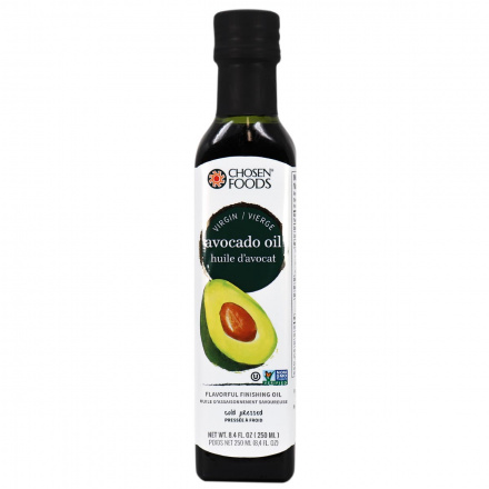 Chosen Foods Virgin Avocado Oil, 250ml