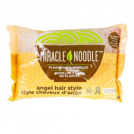 Front of Miracle Noodle Angel Hair Style