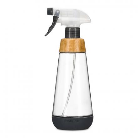 Front of Full Circle Refillable Glass Spray Bottle Bottle Service, 473mL