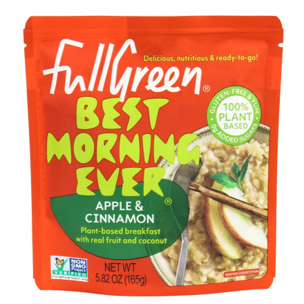 Fullgreen Best Morning Ever Breakfast Apple & Cinnamon, 165g