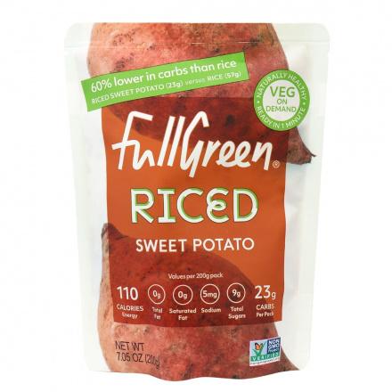 Fullgreen Riced Sweet Potato, 200g