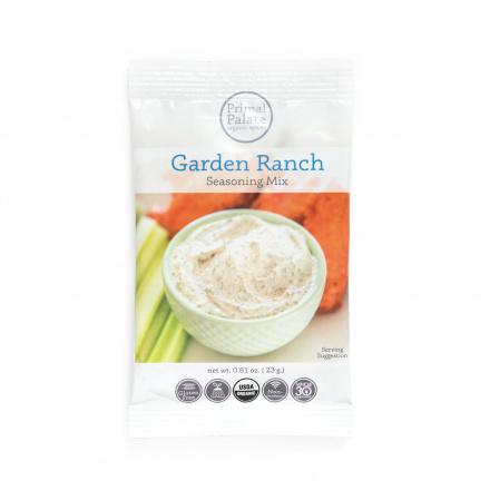 Primal Palate Organic Garden Ranch Seasoning Mix, 23g