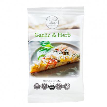 Primal Palate Organic Spices Garlic & Herb, AIP Friendly, 28g