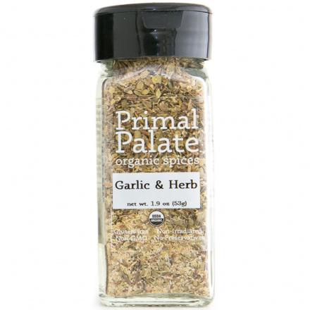 Primal Palate Organic Spices Garlic & Herb, AIP Friendly, 53g