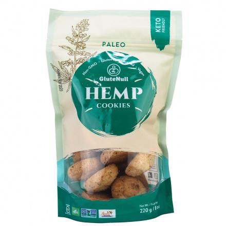 GluteNull Grain-Free Paleo Cookies Hemp, 220g