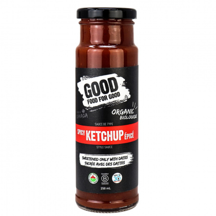 Good Food For Good Paleo Spicy Ketchup, 250ml