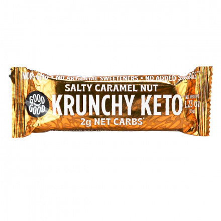 Good Good Krunchy Keto Salty Caramel Nut Bar, 35g