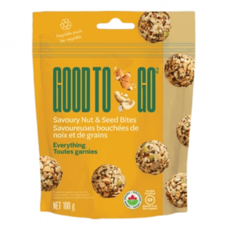 Good to Go Savoury Everything Nut & Seed Bites, 100g