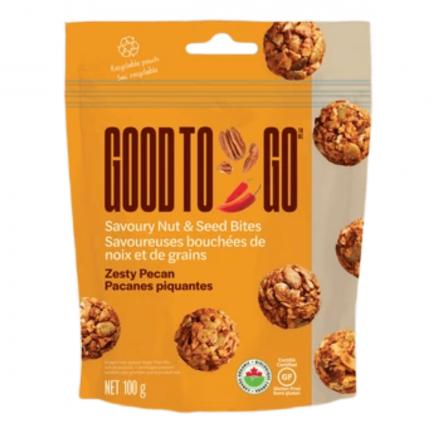 Good to Go Zesty Pecan Savoury Nut & Seed Bites, 100g