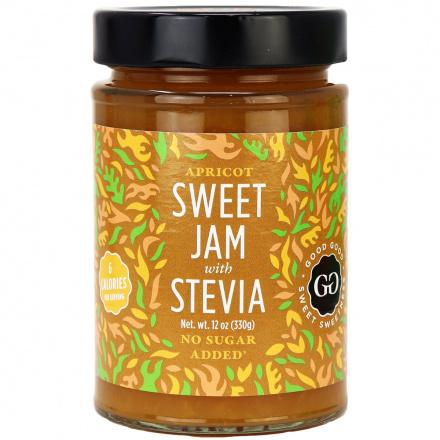 Good Good Sweet Jam with Stevia Apricot, 330g