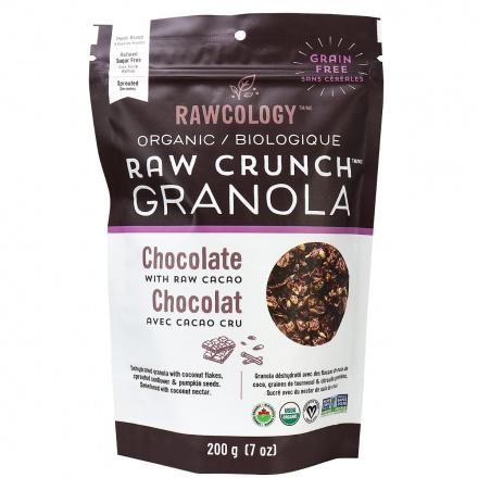 Rawcology Chocolate Raw Crunch Granola, 200g
