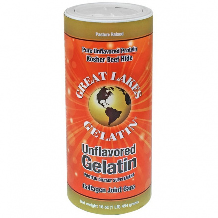 Great Lakes Gelatin Unflavoured, 454g