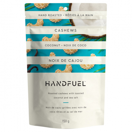 Handfuel Roasted Cashews with Toasted Coconut and Sea Salt, 150g