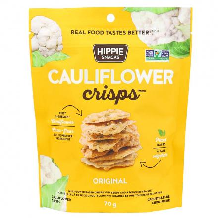 Hippie Snacks Cauliflower Crisps Original, 70g