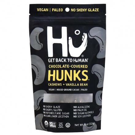 Hu Dark Chocolate Covered Cashews + Vanilla Bean Hunks, 113g