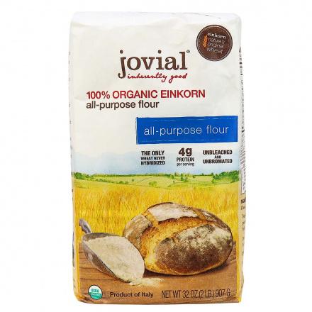 Front of Jovial Organic All-Purpose Einkorn Flour, 907g