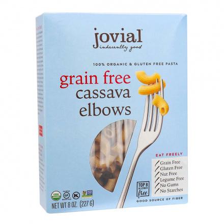 Jovial Organic Grain-Free Cassava Elbows front