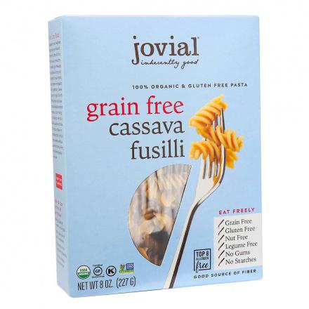 Jovial Organic Grain-Free Cassava Fusilli front
